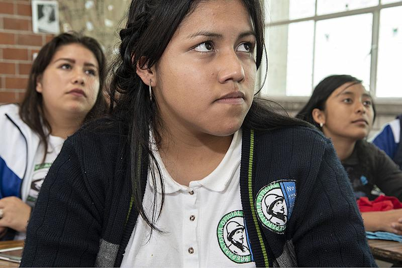 In one of Mexico's most dangerous places for women, his students push back