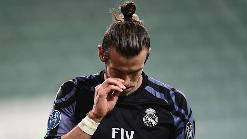 Real Madrid star Bale out of Napoli Champions League clash