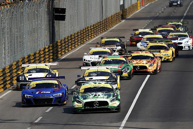 Marciello beats Bamber in fraught GT qualifying race