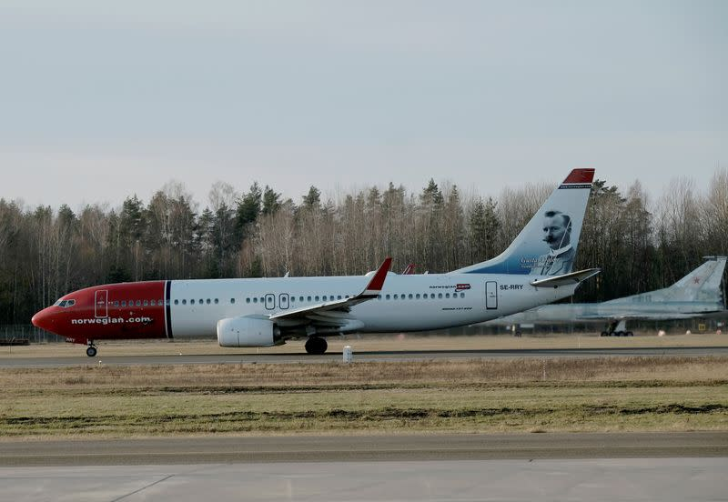 Norwegian Air to cancel 85% of flights and lay off 90% of staff