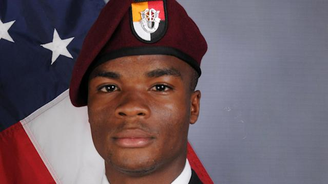 La David Johnson was found with his arms tied being his back and a major wound in the back of his head, indicating he may have been captured and executed in Niger last month, The Washington Post reported, citing local villagers.