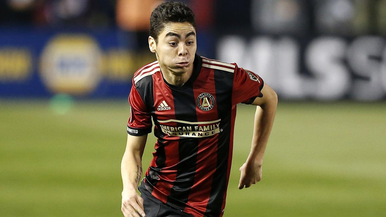 Miguel Almiron's brace led the expansion outfit past its conference rival, while the two Texas teams played out a draw