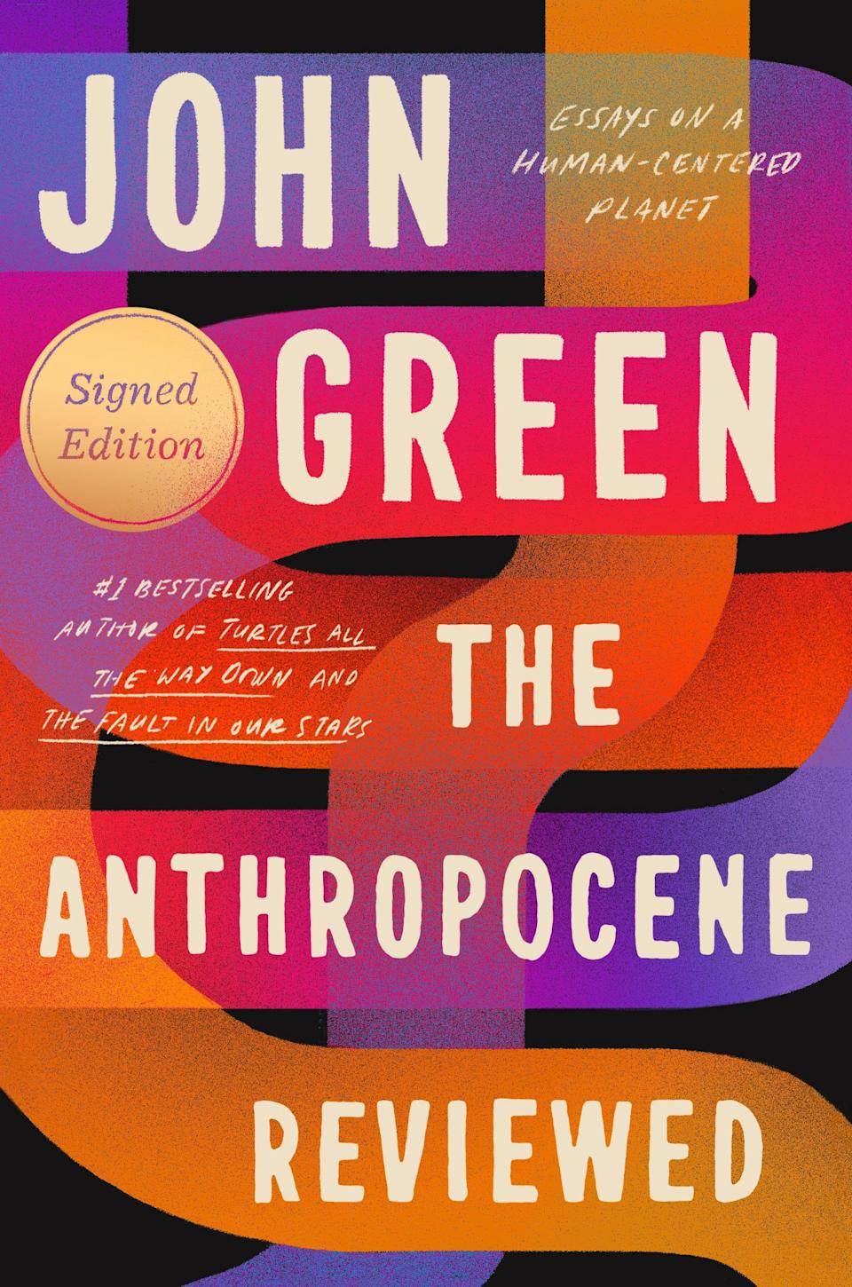 """""""The Anthropocene Reviewed"""" hits bookshelves May 18, 2021."""