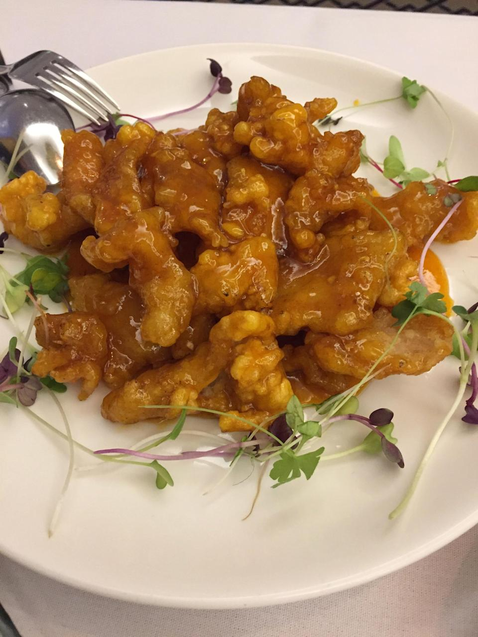 Sweet and Spicy chicken. Photo: Yahoo Lifestyle