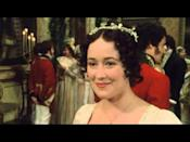 "<p>There have been many Jane Austen adaptations, but none (bar perhaps 1995's Sense & Sensibility) are as convincing and charming as the 1995 BBC version. Jennifer Ehle and Colin Firth star as Elizabeth Bennet and Fitzwilliam Darcy, who realise that, despite their different temperaments and social standings, they are perfect for one another. The pairings are believable, the supporting cast excellent, and it accurately represents Austen's intelligent, sharp dialogue. It also delivers one of the most unforgettable scenes in history - Firth's Darcy dripping wet after emerging from a lake - and for that alone we are grateful.</p><p><a class=""link rapid-noclick-resp"" href=""https://www.netflix.com/watch/70234687?source=35"" rel=""nofollow noopener"" target=""_blank"" data-ylk=""slk:WATCH ON NETFLIX"">WATCH ON NETFLIX</a></p><p><a href=""https://www.youtube.com/watch?v=P5MmcT_vcBU"" rel=""nofollow noopener"" target=""_blank"" data-ylk=""slk:See the original post on Youtube"" class=""link rapid-noclick-resp"">See the original post on Youtube</a></p>"