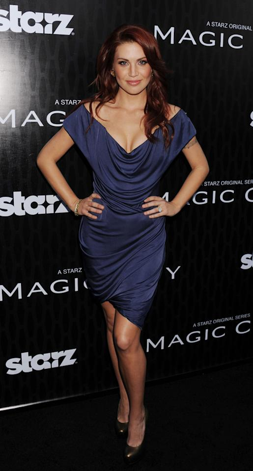 "Willa Ford attends the Starz '<a target=""_blank"" href=""http://tv.yahoo.com/magic-city/show/46996"">Magic City</a>' Los Angeles Series Premiere at Directors Guild Of America on March 20, 2012 in Los Angeles, California."