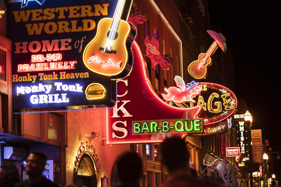 Take in the music at Nashville, Tennessee. (Getty Images)