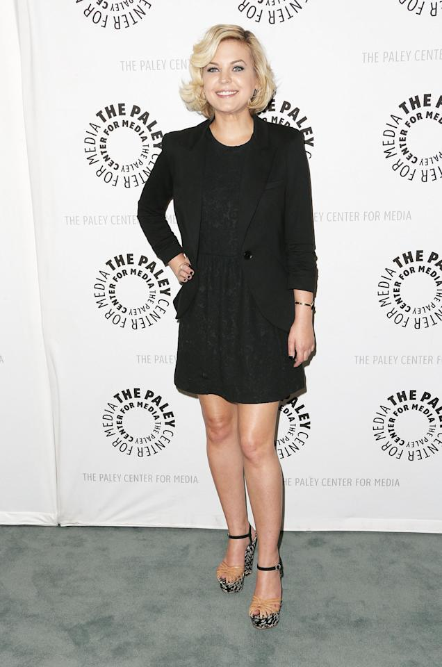 """BEVERLY HILLS, CA - APRIL 12: Actress Kirsten Storms attends The Paley Center for Media Presents """"General Hospital: Celebrating 50 years and Looking Forward"""" at The Paley Center for Media on April 12, 2013 in Beverly Hills, California.  (Photo by Frederick M. Brown/Getty Images)"""