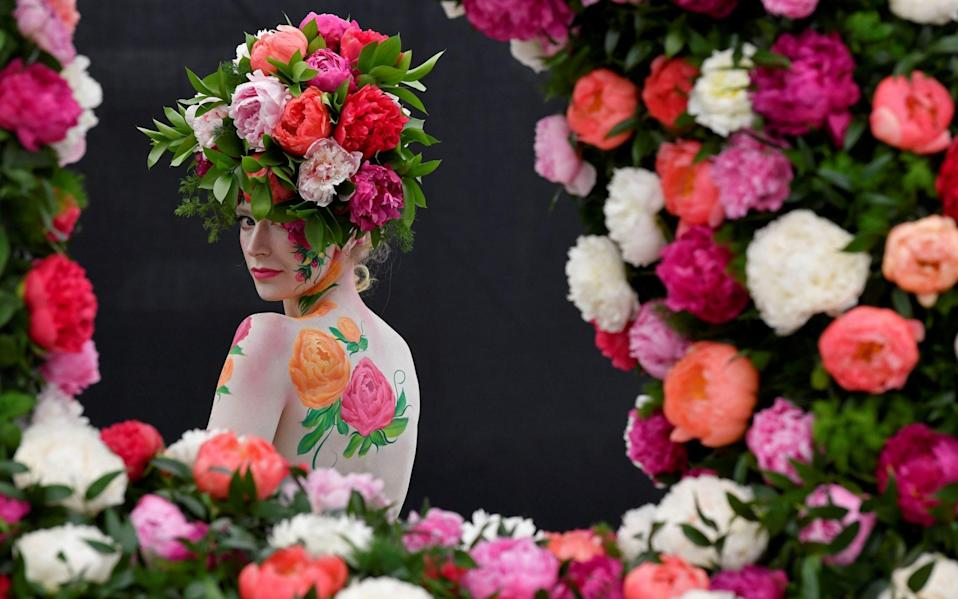 Chelsea Flower Show is scheduled for May -  REUTERS/Toby Melville