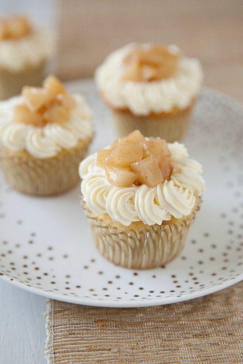 """<p>Pear gets an unexpected starring role in these sweet cupcakes.</p><p><strong><a href=""""http://www.annies-eats.com/2013/08/30/pear-vanilla-bean-cupcakes/"""" rel=""""nofollow noopener"""" target=""""_blank"""" data-ylk=""""slk:Get the recipe at Annie's Eats."""" class=""""link rapid-noclick-resp"""">Get the recipe at Annie's Eats.</a></strong></p>"""