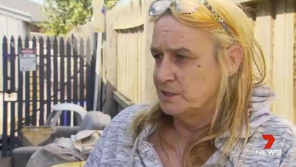 """They're my babies, they are, and if anything happened to my dogs,"" the distraught owner told 7 News. Source: 7 News"