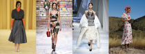 """<p>Given our newfangled virtual fashion week circuit, everyone (yes, you!) has a front-row seat to the <a href=""""https://www.marieclaire.com/fashion/g34129584/london-spring-2021-fashion-week-looks/"""" rel=""""nofollow noopener"""" target=""""_blank"""" data-ylk=""""slk:spring 2021 collections"""" class=""""link rapid-noclick-resp"""">spring 2021 collections</a> this season. Maybe democratizing fashion week is an important reminder that <a href=""""http://www.marieclaire.com/fashion/g3536/120-years-of-style/"""" rel=""""nofollow noopener"""" target=""""_blank"""" data-ylk=""""slk:fashion devotees"""" class=""""link rapid-noclick-resp"""">fashion devotees</a> must band together, especially in times so trying. While some designers understandably decided to opt out of full-fledged runways this season, the show (as a whole) must still go on. And for many, fast forwarding to the new year's collections are a welcome distraction. Here, we kick off some of the spring season's top trends...but that's not <em>all,</em> folks! Stay tuned for more to come...</p>"""