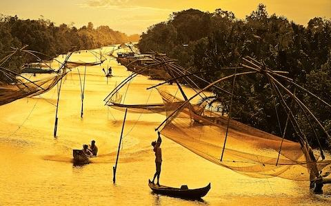 Fishing on the Mekong - Credit: Getty