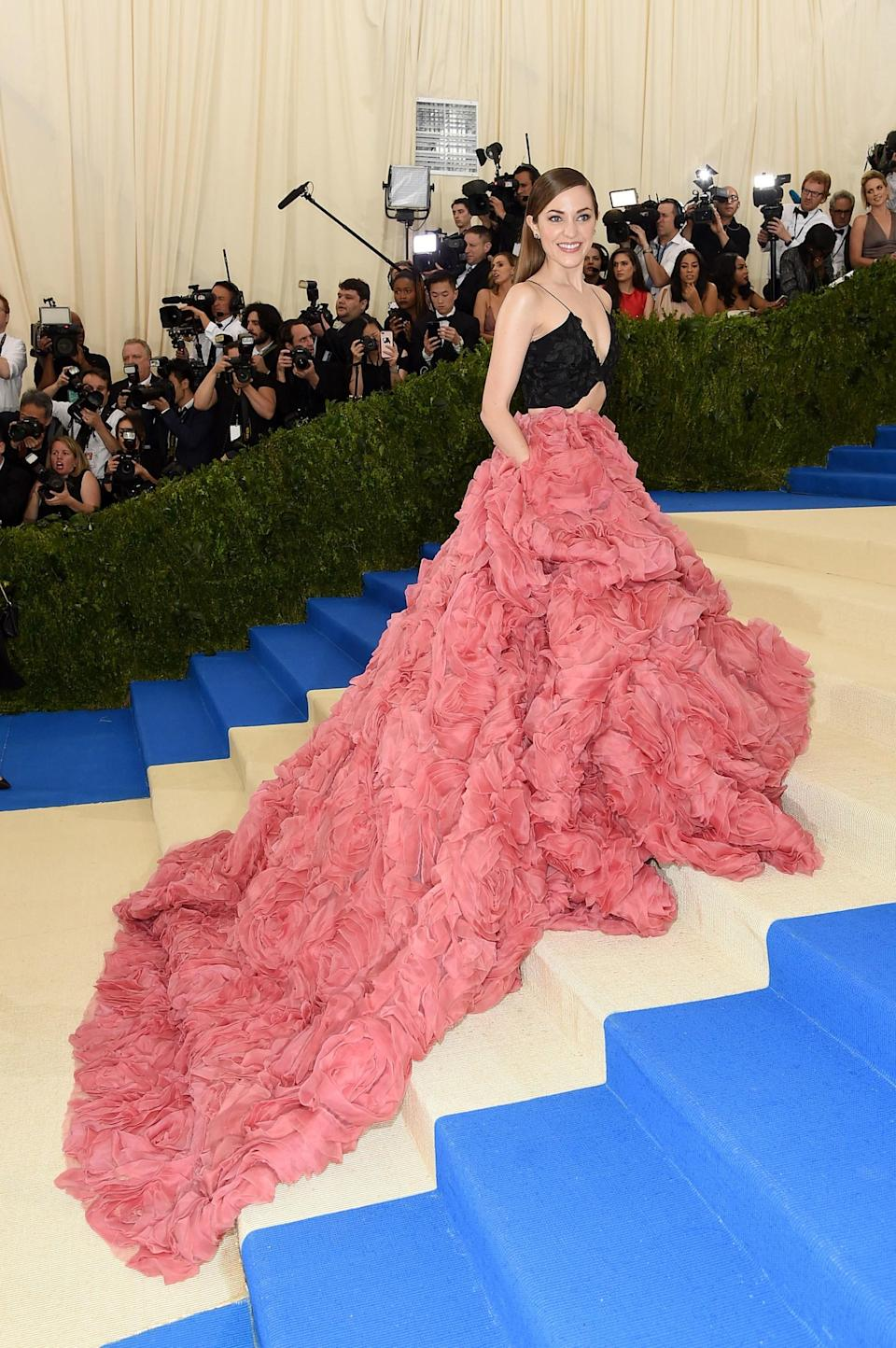 The Most Elaborate Trains in Met Gala Red Carpet History ...