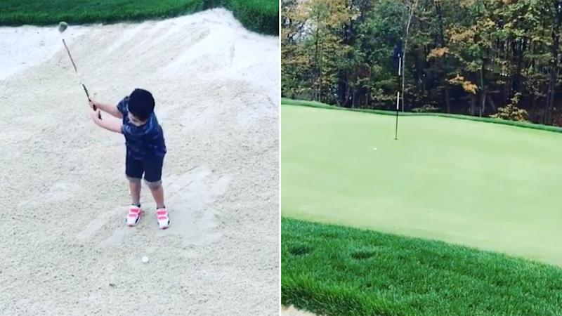 Could Dash Day be a future PGA Tour star? Pic: Instagram