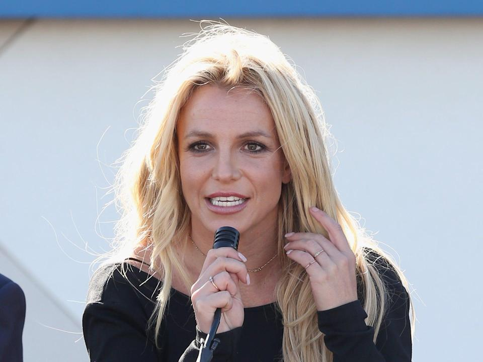 Britney Spears at an event in 2017 (Gabe Ginsberg/Getty Images)