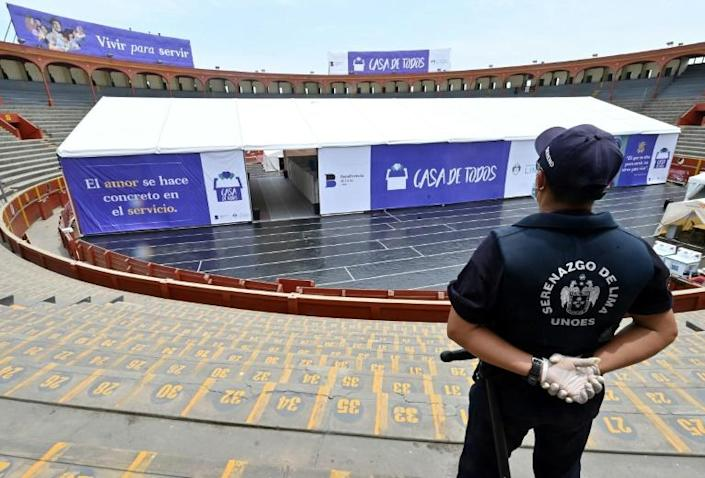 Peru's Cultural Bullfighting Association has complained about the arena's conversion to the culture ministry (AFP Photo/Cris BOURONCLE)