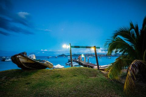 Nevis is St Kitts' little sister - Credit: Getty
