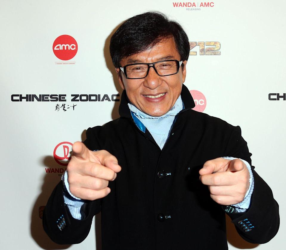 """<p>In the U.S., Jackie Chan is known for his martial arts and role in the <em>Rush Hour </em>franchise. In Hong Kong, Jackie is known as a pop star who has <a href=""""https://open.spotify.com/artist/0wVKXWiOMLfqmFCdCPR7Ar?si=u7LUYKd3RpCkWHcashWiJQ"""" rel=""""nofollow noopener"""" target=""""_blank"""" data-ylk=""""slk:released more than 20 (!!!) albums"""" class=""""link rapid-noclick-resp"""">released more than 20 (!!!) albums</a>. Jackie started singing professionally in 1980 and often sang the theme songs for the closing credits of his films. He has sung in Cantonese, Mandarin, Japanese, Taiwanese, and English.</p>"""