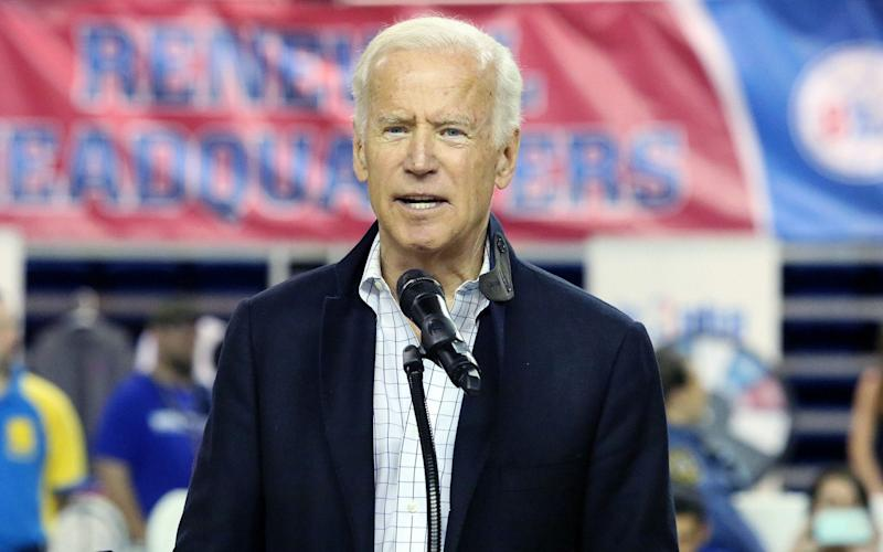 Former vice-president Joe Biden  - Rex Features