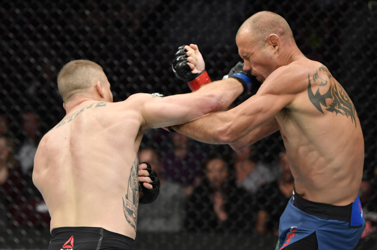 Ufc Vancouver Justin Gaethje Drops Stops Donald Cowboy Cerrone With 1st Round Tko