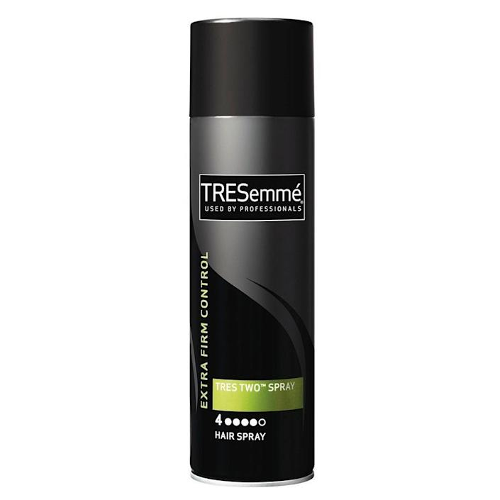 "<p><strong>Tresemme</strong></p><p>ulta.com</p><p><strong>$5.99</strong></p><p><a href=""https://go.redirectingat.com?id=74968X1596630&url=https%3A%2F%2Fwww.ulta.com%2Ftres-two-extra-hold-hair-spray%3FproductId%3Dprod2041373&sref=https%3A%2F%2Fwww.elle.com%2Fbeauty%2Fhair%2Fg35599042%2Ffall-2021-hair-trends%2F"" rel=""nofollow noopener"" target=""_blank"" data-ylk=""slk:Shop Now"" class=""link rapid-noclick-resp"">Shop Now</a></p>"