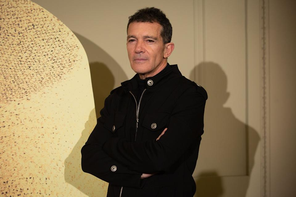 Antonio Banderas pictured in February (Photo: Europa Press News via Getty Images)