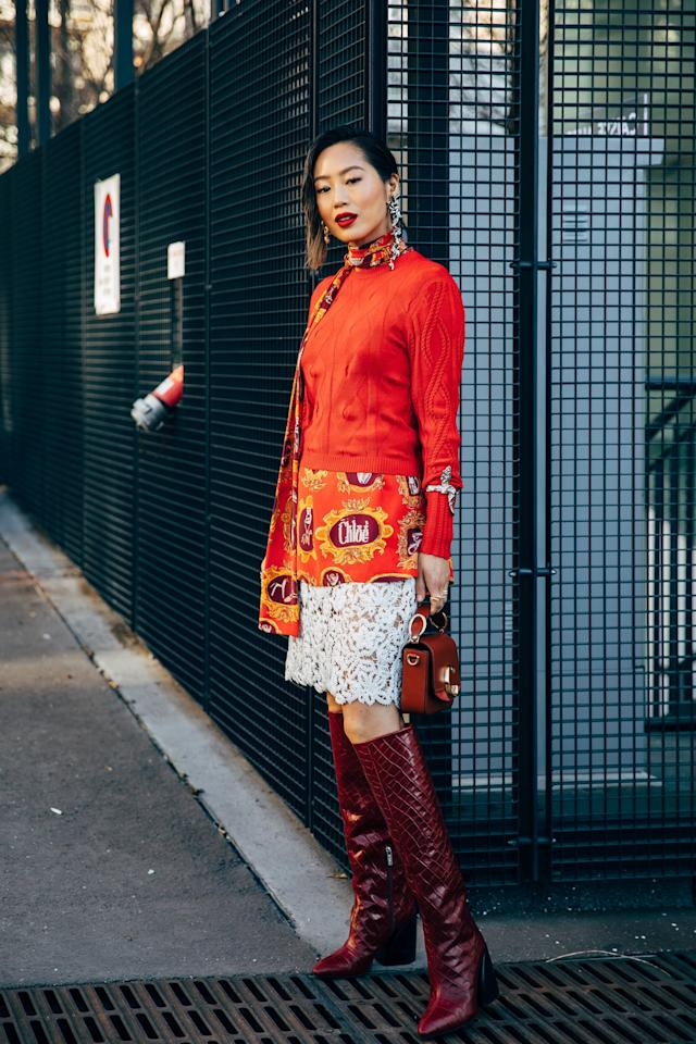 <p>If you've always been intrigued by animal prints but find them to be a bit too loud, then allow me to introduce you to the perfect alternative: croc-effect boots. More subtle than snake or leopard prints, croc-effect boots are one of the most sophisticated shoe trends you'll come across this Fall.</p>
