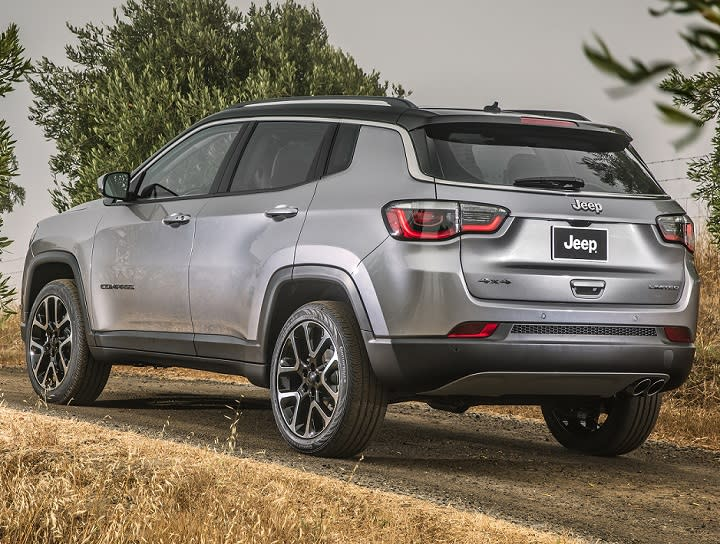 All-new 2017 Jeep Compass rear quarter left photo