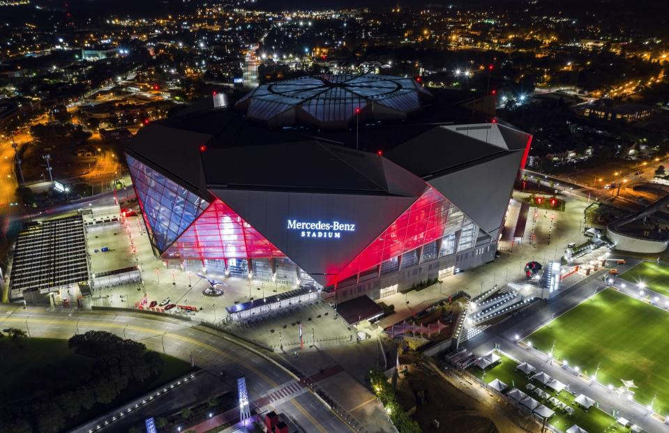 Patriots fans know how to work the Super Bowl ticket market, which bodes well for them if New England wins the AFC and punches their ticket to Atlanta. (AP)