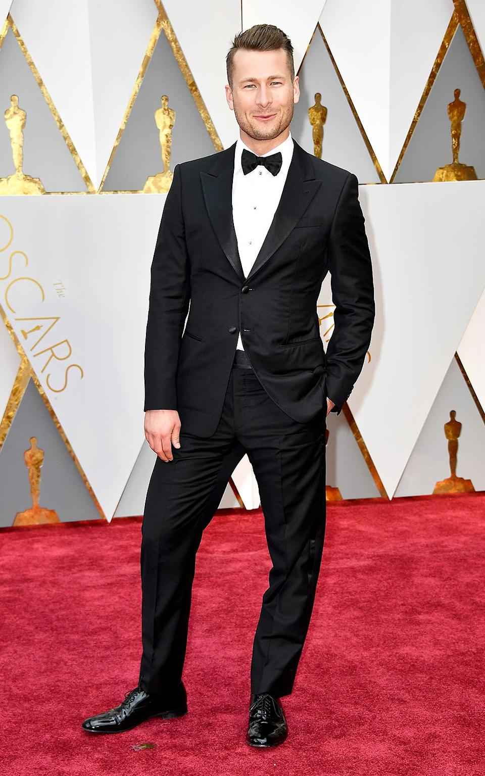 <p>Actor Glen Powell attends the 89th Annual Academy Awards at Hollywood & Highland Center on Feb. 26, 2017 in Hollywood, California. (Photo by Frazer Harrison/Getty Images) </p>
