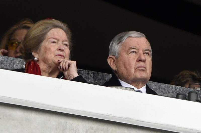 Panthers owner Jerry Richardson will step down from day-to-day operations of the team. (AP)