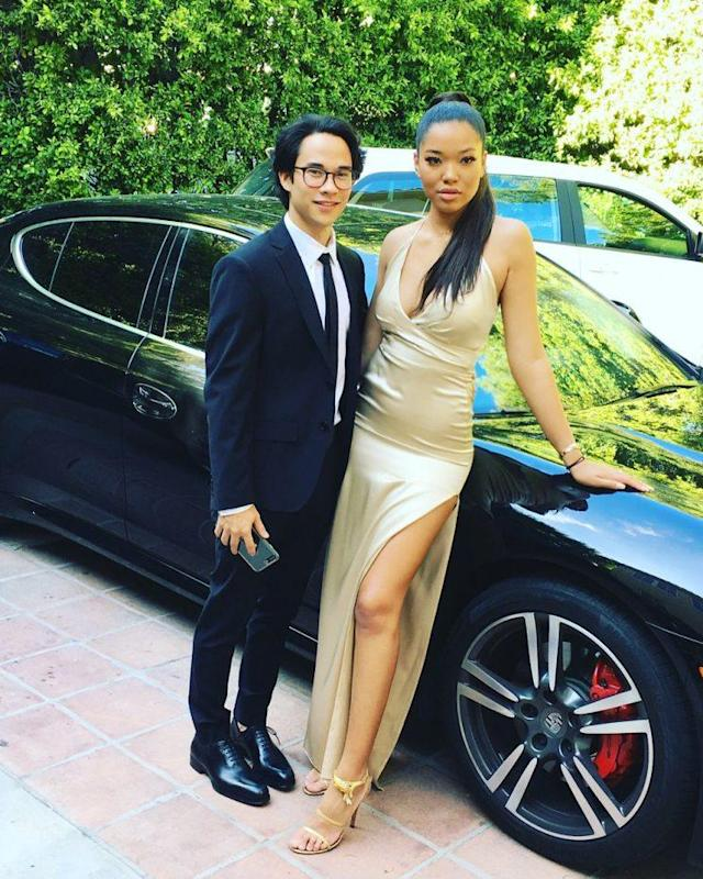 The older daughter of Kimora Lee Simmons recently attended prom. (Photo: Twitter/OfficialKimora)