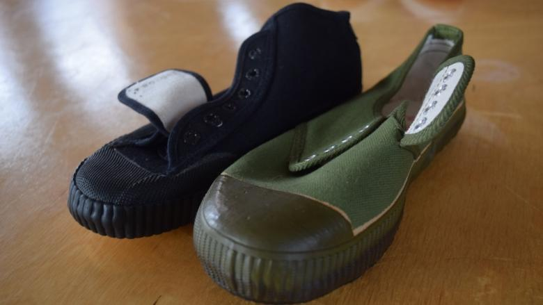 N.B. shoemaker tries to get China-inspired shoes off on right foot