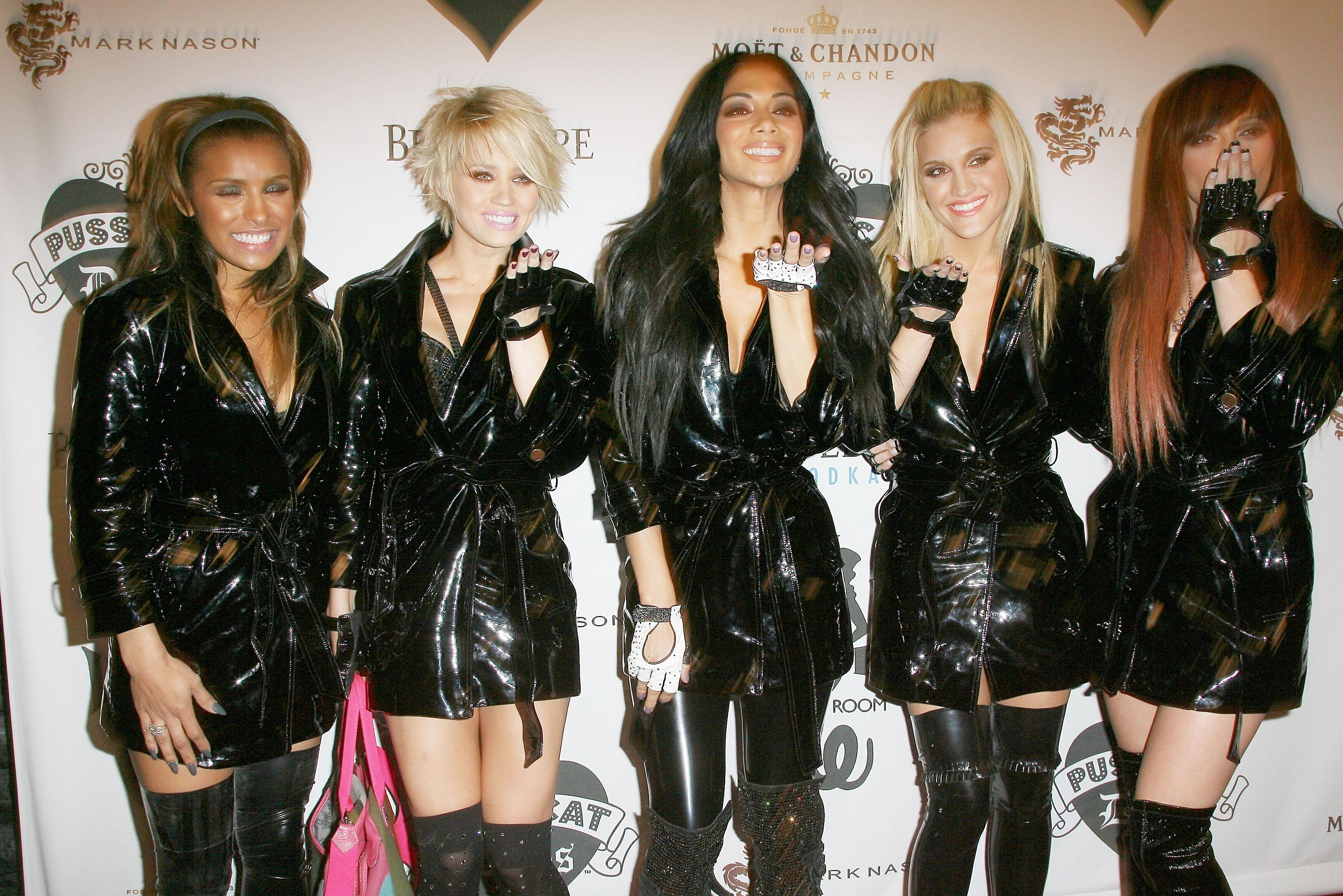 WEST HOLLYWOOD, CA - NOVEMBER 23: The Pussycat Dolls arrive at Opening Night Of The Pussycat Dolls Lounge at the Viper Room on November 23, 2008 in West Hollywood, California. (Photo by Valerie Macon/Getty Images)