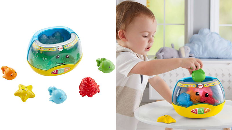Best gifts for babies: A magical talking fishbowl
