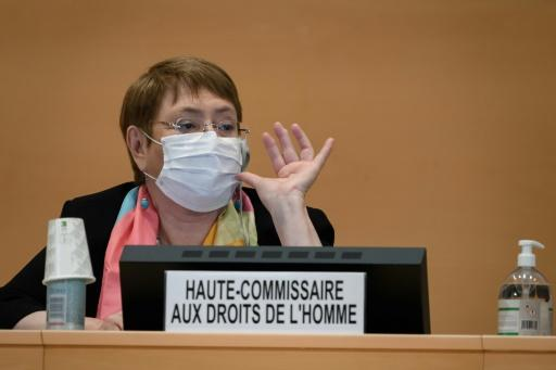 "The further watered-down resolution would call on UN rights chief Michelle Bachelet to ""prepare a report on systemic racism"""