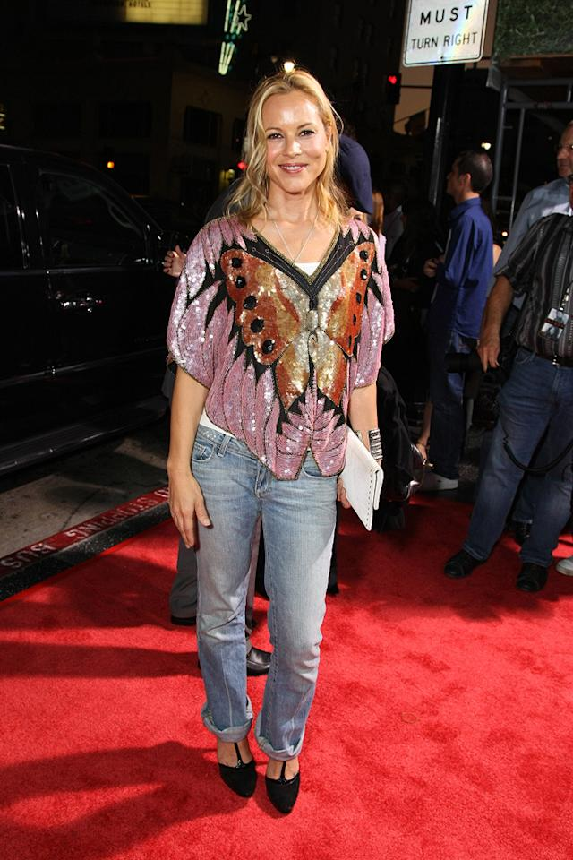 "<a href=""http://movies.yahoo.com/movie/contributor/1800019251"">Maria Bello</a> at the Los Angeles premiere of <a href=""http://movies.yahoo.com/movie/1809955918/info"">Eagle Eye</a> - 09/16/2008"