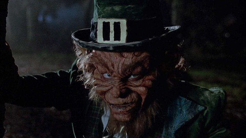 <p>Not many people realize that Jennifer Aniston's first movie role was in the 1993 horror film, <em>Leprechaun</em>. While Aniston moved on to bigger and better things, the ferocious mythical killer starred in <strong>eight</strong> movies. The lesson here? Don't mess with a Leprechaun and his pot of gold.</p>