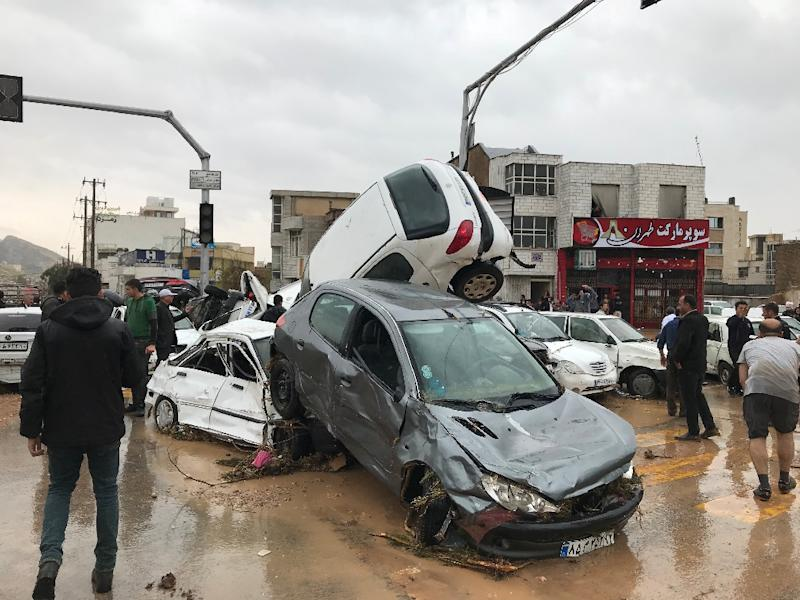 Devastating flood in Shiraz claims lives of 11, injured 45 others