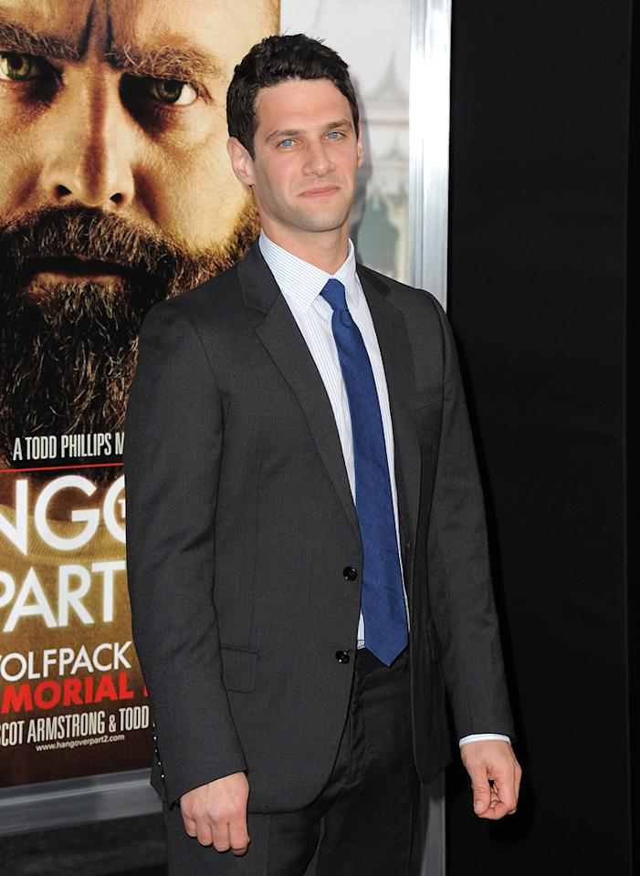 """<a href=""""http://movies.yahoo.com/movie/contributor/1808458132"""">Justin Bartha</a> attends the Los Angeles premiere of <a href=""""http://movies.yahoo.com/movie/1810187722/info"""">The Hangover Part II</a> on May 19, 2011."""