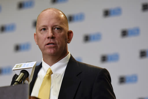 Jeff Brohm comes to Purdue after going 30-10 in three seasons at Western Kentucky. (AP)