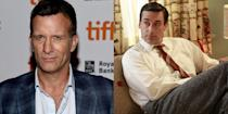 "<p>Because of <em>Mad Men</em>, we have Jon Hamm (the AMC show was his breakout hit) and for that, we're eternally grateful. But in 2011, Hamm let it slip that another actor was considered but *passed* on the role of Don Draper. ""I think they went to Thomas Jane for it, and they were told that Thomas Jane does not do television. Now starring in <em>Hung</em>, by the way,"" Hamm told the <em><a href=""http://www.wtfpod.com/podcast/tag/Jon+Hamm"" rel=""nofollow noopener"" target=""_blank"" data-ylk=""slk:WTF with Marc Maron"" class=""link rapid-noclick-resp"">WTF with Marc Maron</a> </em>podcast.</p>"