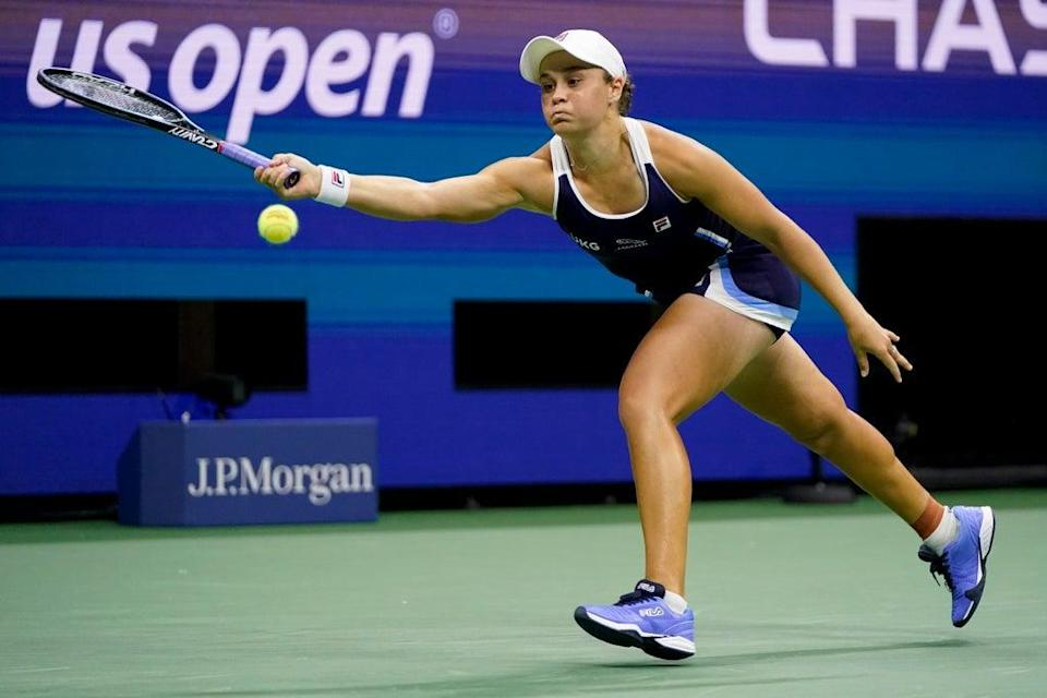 Ash Barty's six months on the road ended with defeat in the US Open (Frank Franklin II/AP) (AP)