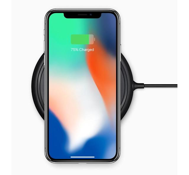 You'll be able to wireless charge the iPhone X, iPhone 8 and iPhone 8 Plus.