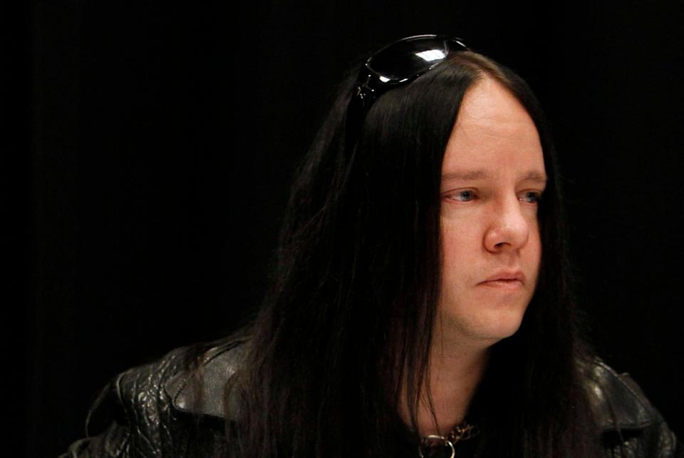 Obit Joey Jordison (Copyright 2021 The Associated Press. All rights reserved.)