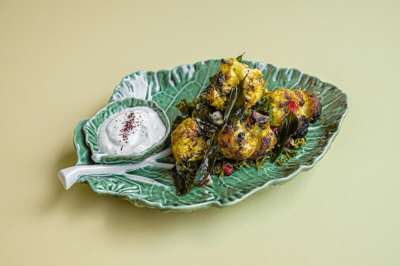 Tandoor cauliflower. Photo: Como Cuisine