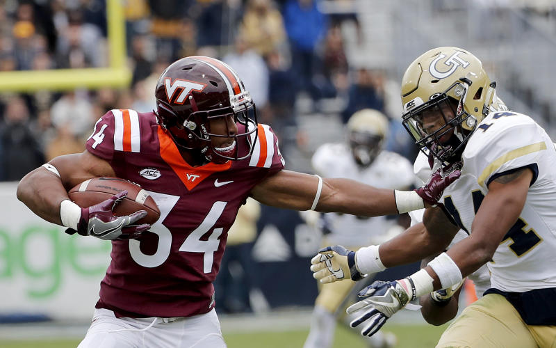 Hokies running back McMillian to transfer