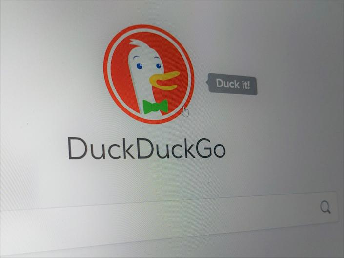 DuckDuckGo is popular among privacy advocates as it does not collect user data: CC