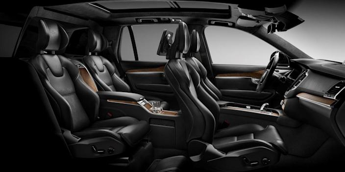 <p>With seating for up to seven, spread across three rows, the XC90 is as useful as three-row luxury crossovers come. </p>